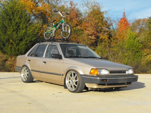 A highly unusual platform: Mazda 323 BF-chassis