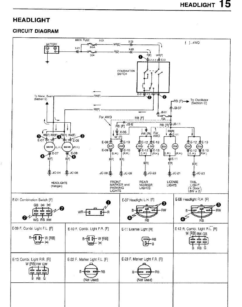 mazda 323 bf wiring diagram mazda wiring diagrams online where do you the headlight relay