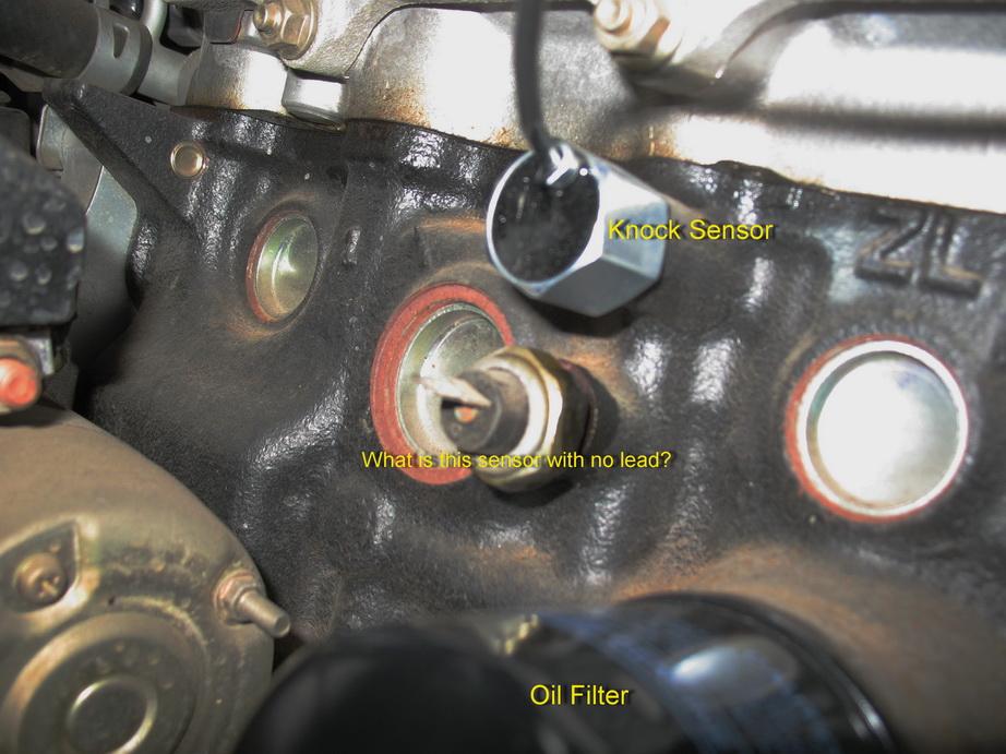 Attachment on Mazda Protege Starter Location