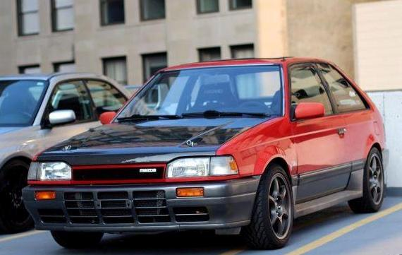 Wtb Bf Mazda 323 Gtae Front Bumper I Know Im Not The Only