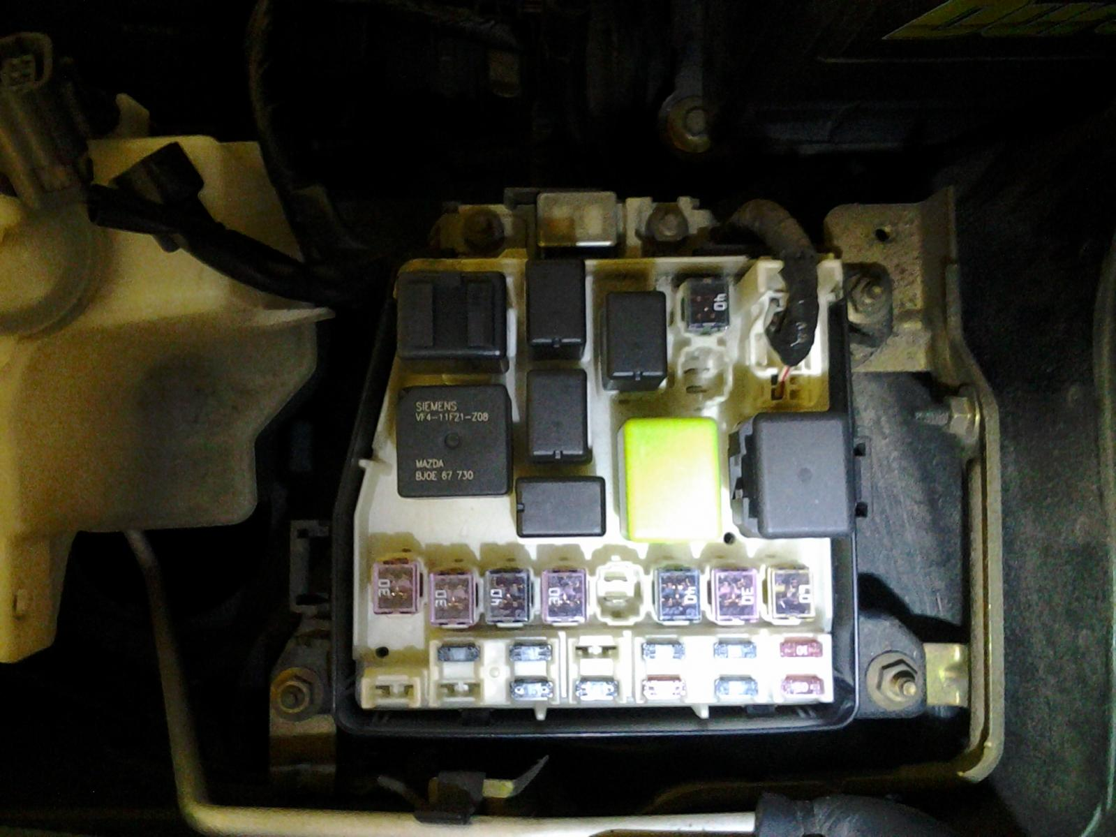 for the love of all mazdas where is starter relay located fusebox jpg views 3832 size 171 0 kb